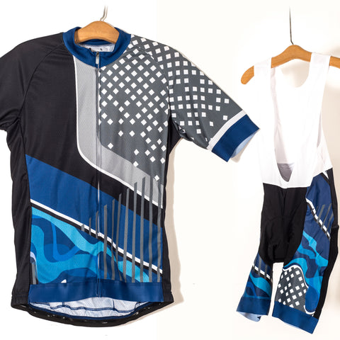 Daba Dee Cycling Kit Jersey and Bib Short Combo