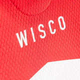 Wisconsin 8-Bit Cycling Jersey - Men's M, L, XL, Women's S, M, L, XL