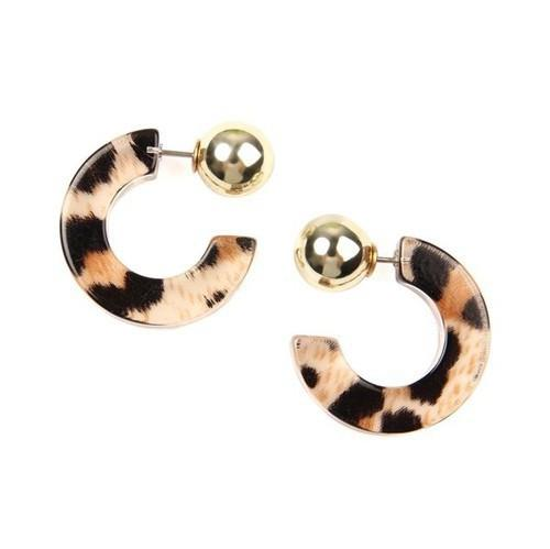 Leopard Earrings - Glam and Glow Shop