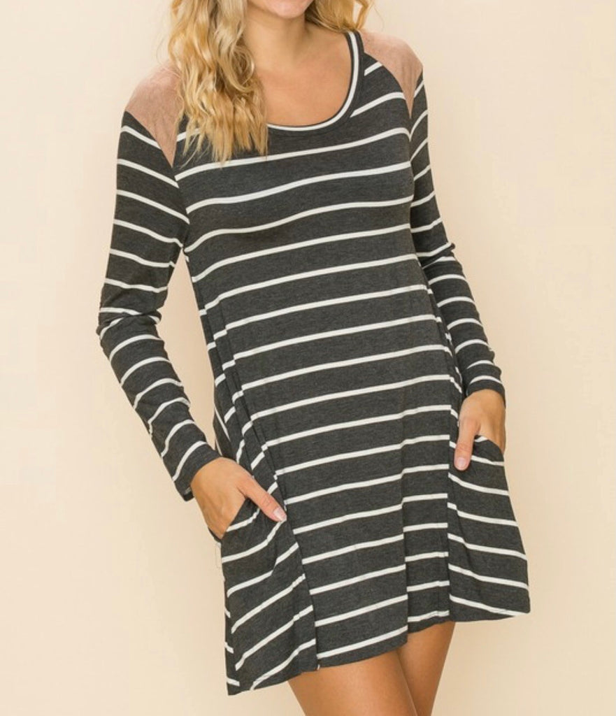 Sagely Stripped Tunic
