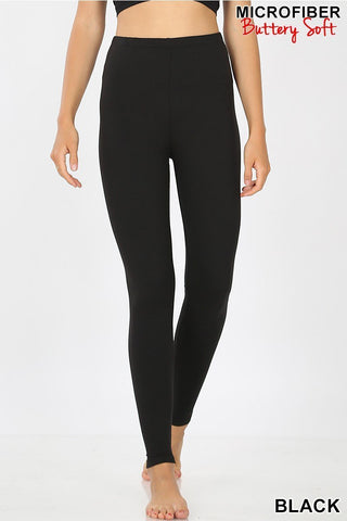 HIGH WAIST TUMMY CONTROL LEGGINGS - Glam and Glow Shop