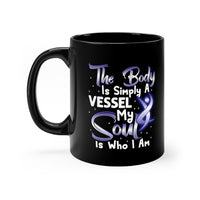 The Body Is Simply A Vessel. My Soul Is Who I Am