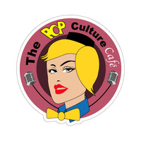The Pop Culture Cafe Sticker