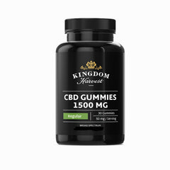 Whole-Spectrum CBD Gummies (Regular) 1500mg 30 Pack