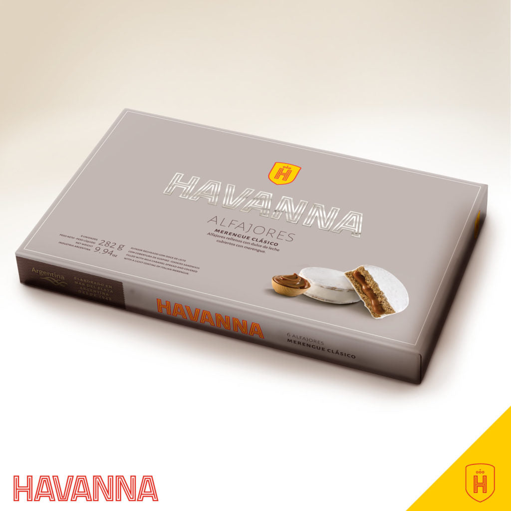Havanna - Alfajor Merengue  x 6 uni