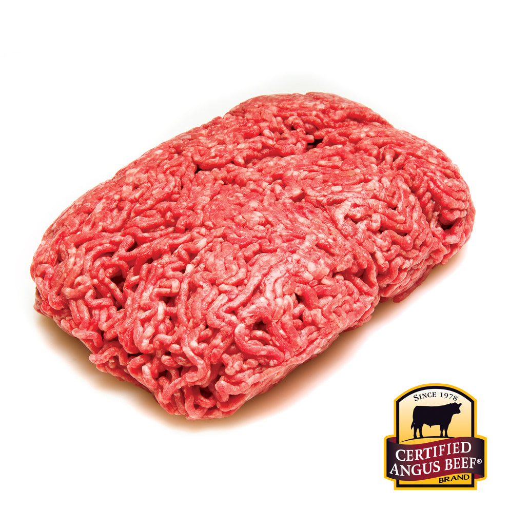 2 lbs Ground Beef Fresh 80/20 Certified Angus Beef®