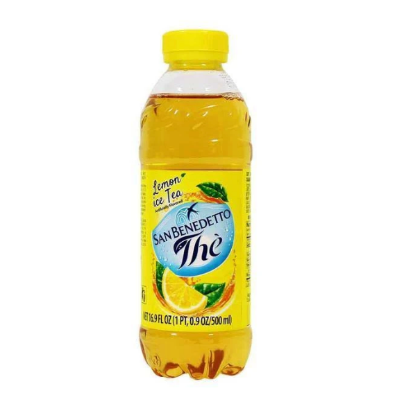 Lemon Tea from Italy by San Benedetto - (500 ml) 16.9 fl oz