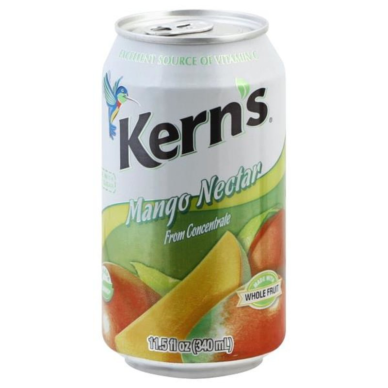 Kern's Nectar Mango Juice Can 11.5 oz