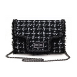 Gabrielle Black Crossbody Bag