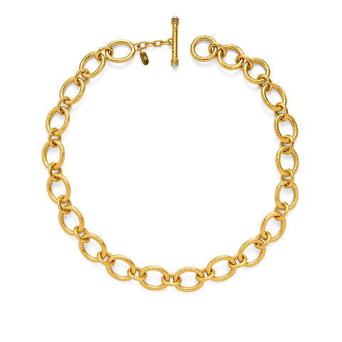 Savannah Gold Link Necklace