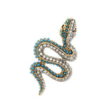 Serpent Brooch
