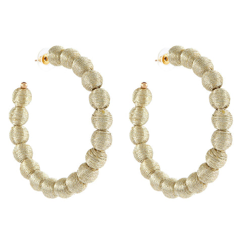 Pearly Baguette Drop Earrings