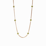 Jade Calypso Station Necklace