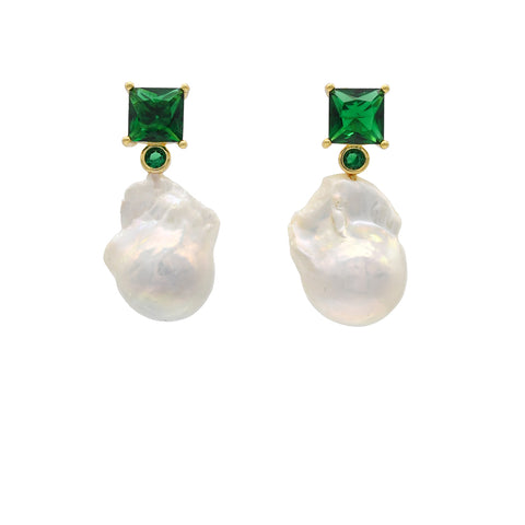 Jaqueline Baroque Drop Earrings