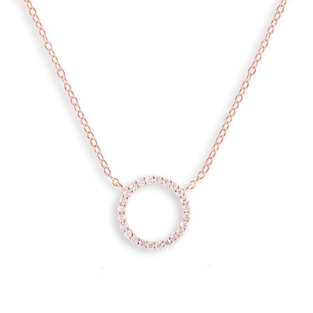 Gold Baroque Pearl Pendant Necklace
