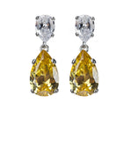 Classic Canary Drop Earrings - Pierre Winter Fine Jewels