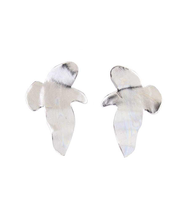 Silver Seagull Earrings