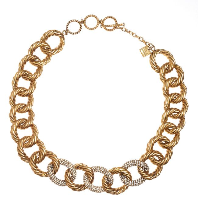 Chunky Gold Link Necklace - Pierre Winter Fine Jewels