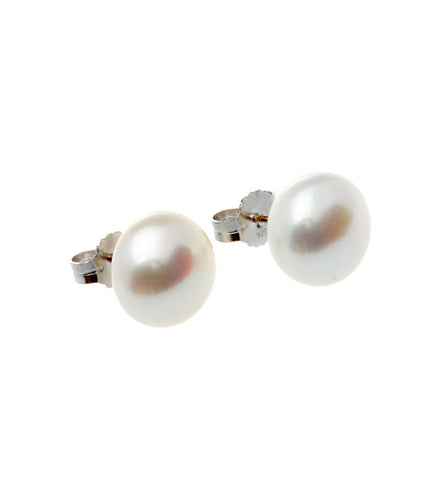 Classic Short Clear Drop Earrings