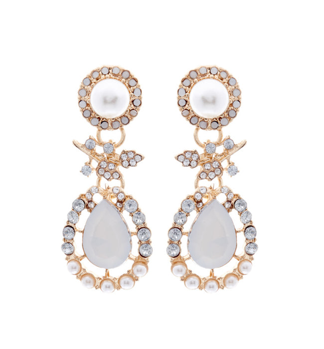 Gold Drop Earrings - Pierre Winter Fine Jewels