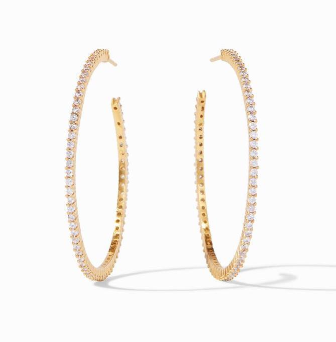 Paris Hoop Earrings