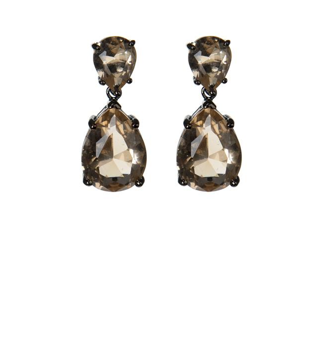 Classic Mini Champagne Drop Earrings