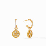 Paris Hoop & Charm Earring