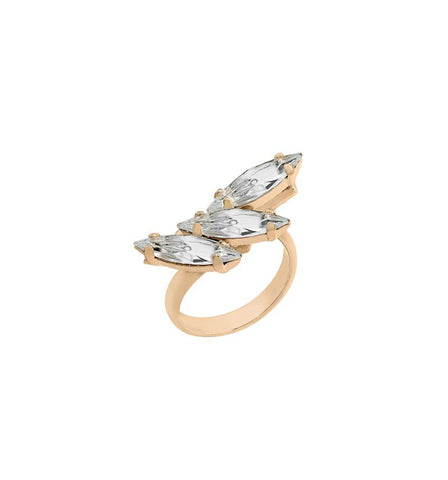 Jet Trumpet Lily Ring