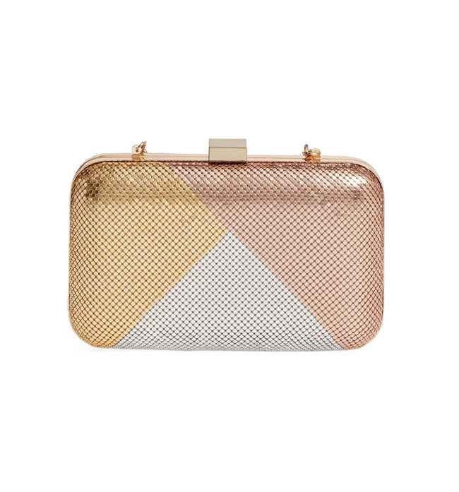 Colour Block Minaudiere