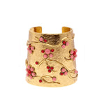 Coral Branch Gold Cuff - Pierre Winter Fine Jewels