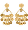 Gold Coin Earrings - Pierre Winter Fine Jewels
