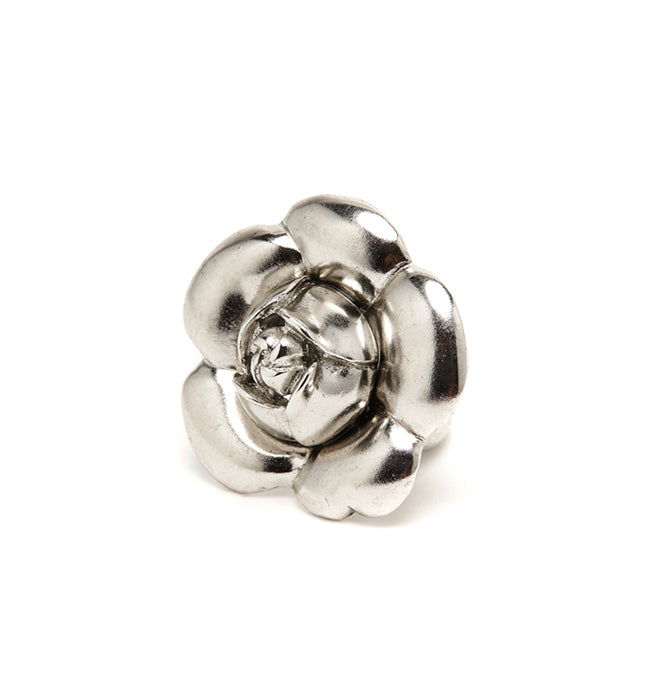 Gardenia Flower Ring - Pierre Winter Fine Jewels