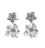 Bold Floral Earrings