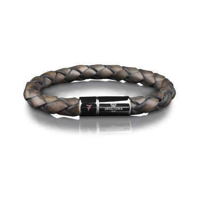 Brown Leather Bracelet 7 by Lino Leluzzi | L - Pierre Winter Fine Jewels