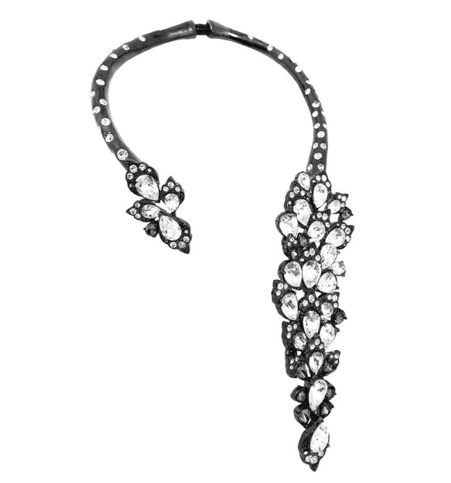 Clear Crystal Collar - Pierre Winter Fine Jewels