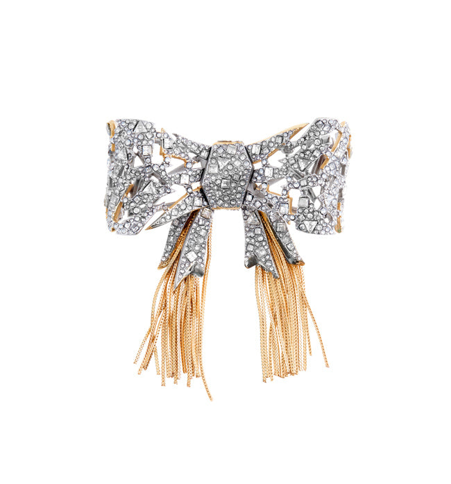 Art Deco Bow Brooch