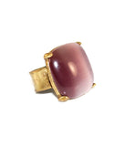 Cat's Eye Mulberry Ring | SALE - Pierre Winter Fine Jewels