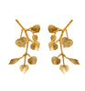 Gold Branch Earrings - Pierre Winter Fine Jewels