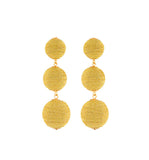 Yellow Carnival Earrings