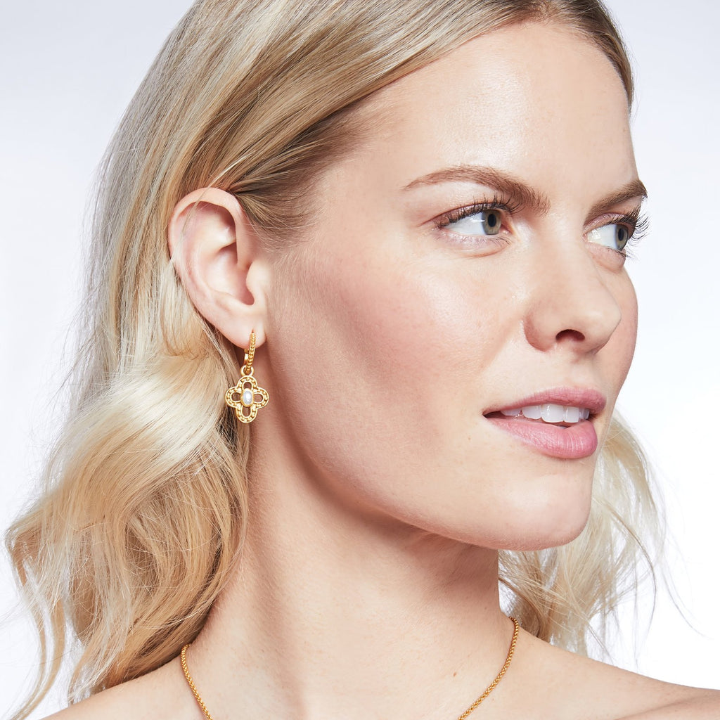 Soho Hoop & Charm Earrings
