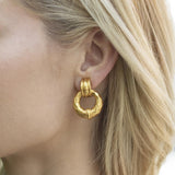 Savannah Door Knocker Earrings