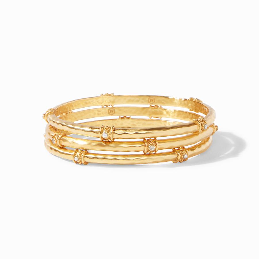 Savannah Stacking Pearl Bangle