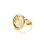 Cameo Signet Ring