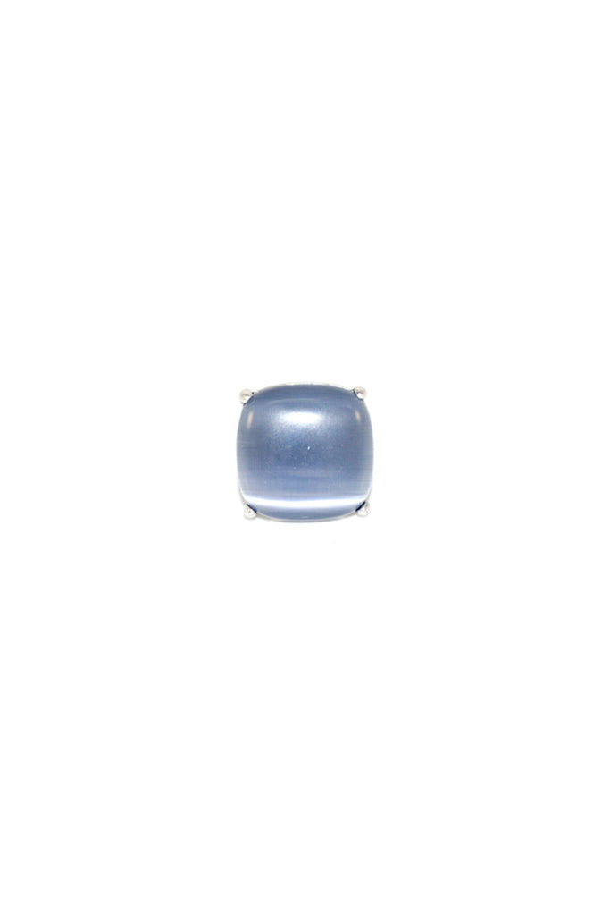 Cat's Eye Smoky Blue Ring | SALE