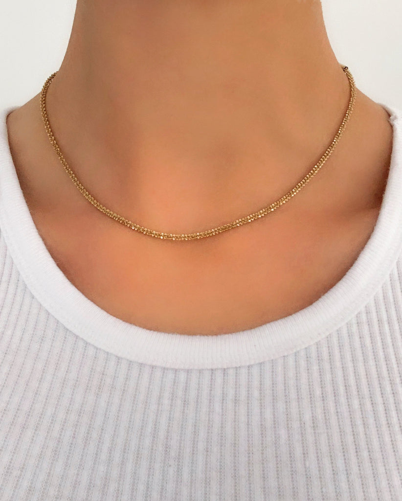 Sabine Gold Necklace