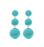 Turquoise Carnival Earrings