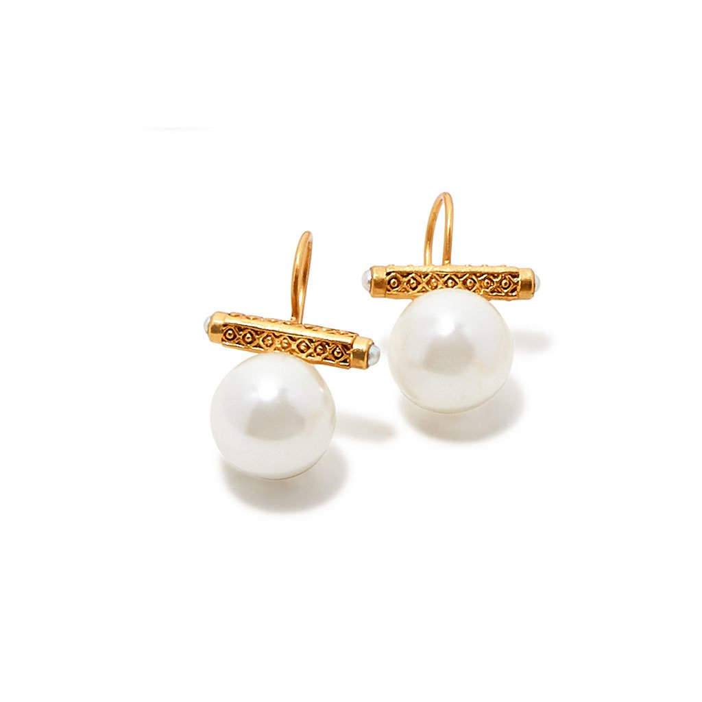 Medici Pearl Earrings