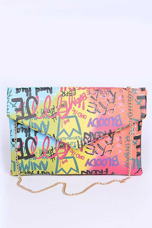 GRAFFITI CLUTCH Multi