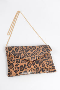 Leo Envelope Clutch