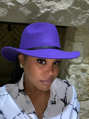 Fedora Purple